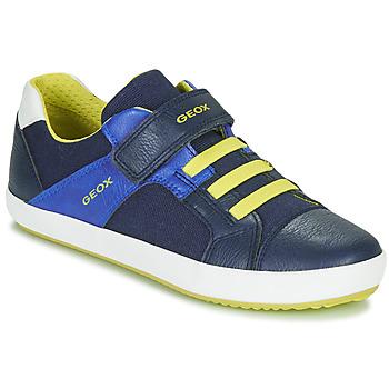 Pantofi Băieți Pantofi sport Casual Geox J GISLI BOY Bleumarin / Galben