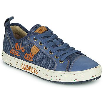 Pantofi Băieți Pantofi sport Casual Geox J ALONISSO BOY Albastru / Maro