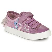 Pantofi Fete Pantofi sport Casual Geox JR CIAK GIRL Violet