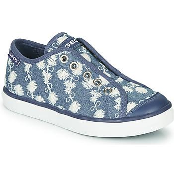Pantofi Fete Pantofi sport Casual Geox JR CIAK GIRL Albastru / Alb