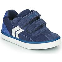 Pantofi Băieți Pantofi sport Casual Geox B KILWI BOY Albastru / Alb