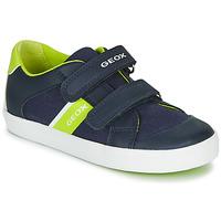 Pantofi Băieți Pantofi sport Casual Geox B GISLI BOY Bleumarin / Verde