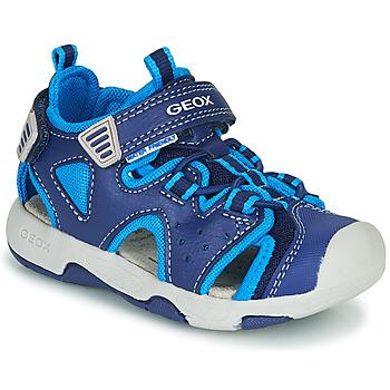 Pantofi Băieți Sandale sport Geox B SANDAL MULTY BOY Albastru