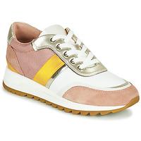 Pantofi Femei Pantofi sport Casual Geox D TABELYA Roz / Alb / Galben