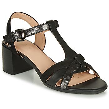 Pantofi Femei Sandale  Geox D MARYKARMEN MID SAN Negru