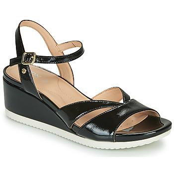 Pantofi Femei Sandale  Geox D ISCHIA Negru
