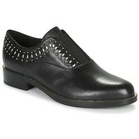 Pantofi Femei Pantofi Derby Geox D BROGUE S Negru / Auriu