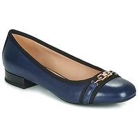 Pantofi Femei Balerin și Balerini cu curea Geox D WISTREY Bleumarin / Negru