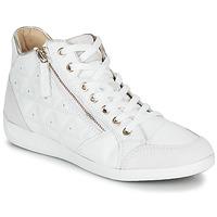 Pantofi Femei Pantofi sport stil gheata Geox D MYRIA Alb