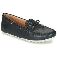 Pantofi Femei Mocasini Geox D LEELYAN Albastru / Bleumarin