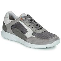 Pantofi Bărbați Pantofi sport Casual Geox U ERAST Gri / Alb / Portocaliu
