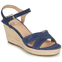 Pantofi Femei Sandale  Geox D SOLEIL Albastru