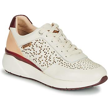 Pantofi Femei Pantofi sport Casual Pikolinos SELLA W6Z Alb / Bordo