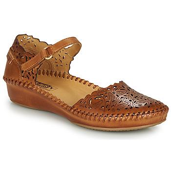 Pantofi Femei Balerin și Balerini cu curea Pikolinos P. VALLARTA 655 Coniac