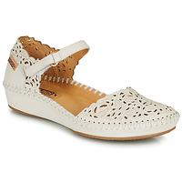 Pantofi Femei Balerin și Balerini cu curea Pikolinos P. VALLARTA 655 Alb