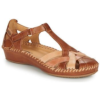 Pantofi Femei Balerin și Balerini cu curea Pikolinos P. VALLARTA 655 Coniac / Camel
