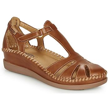 Pantofi Femei Balerin și Balerini cu curea Pikolinos CADAQUES W8K Camel