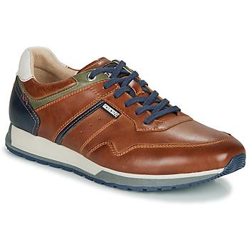 Pantofi Bărbați Pantofi sport Casual Pikolinos CAMBIL M5N Maro / Bleumarin