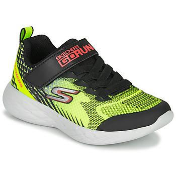 Pantofi Băieți Multisport Skechers GO RUN 600 BAXTUX Negru / Galben