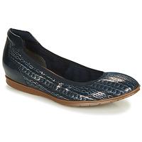 Pantofi Femei Balerin și Balerini cu curea Tamaris JOYA Bleumarin / Argintiu