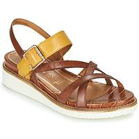Pantofi Femei Sandale  Tamaris EDA Maro / Galben