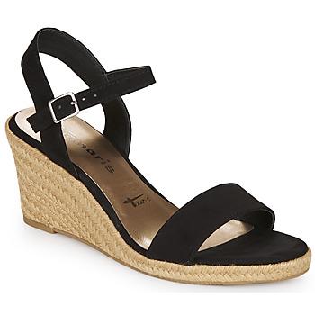 Pantofi Femei Sandale  Tamaris LIVIA Negru
