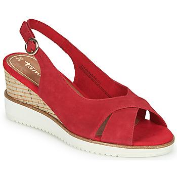 Pantofi Femei Sandale  Tamaris ALIS Roșu