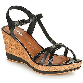 Pantofi Femei Sandale  Tamaris VESILA Negru