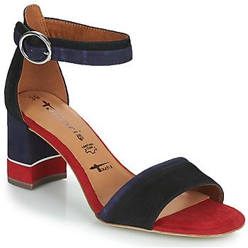 Pantofi Femei Sandale  Tamaris DALINA Albastru / Roșu