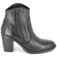 Pantofi Femei Botine Porronet Boots Acap Noir Negru
