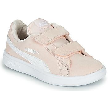Pantofi Copii Pantofi sport Casual Puma Puma Smash v2 SD V PS Roz