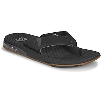 Pantofi Bărbați  Flip-Flops Reef FANNING LOW Negru