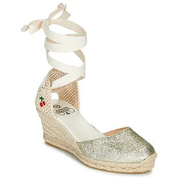 Pantofi Femei Sandale  Le Temps des Cerises POLY Auriu