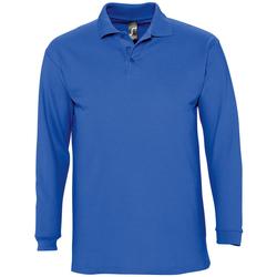 Îmbracaminte Bărbați Tricou Polo manecă lungă Sols WINTER 2 CASUAL MEN Azul