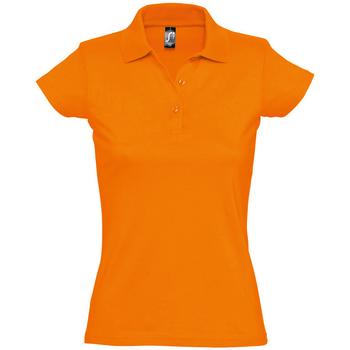 Îmbracaminte Femei Tricou Polo mânecă scurtă Sols PRESCOTT CASUAL DAY Naranja
