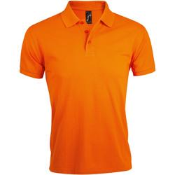 Îmbracaminte Bărbați Tricou Polo mânecă scurtă Sols PRIME ELEGANT MEN Naranja