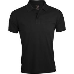 Îmbracaminte Bărbați Tricou Polo mânecă scurtă Sols PRIME ELEGANT MEN Negro