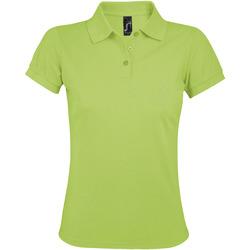 Îmbracaminte Femei Tricou Polo mânecă scurtă Sols PRIME ELEGANT WOMEN Verde