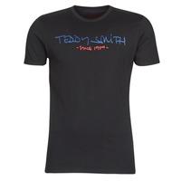 Îmbracaminte Bărbați Tricouri mânecă scurtă Teddy Smith TICLASS Negru
