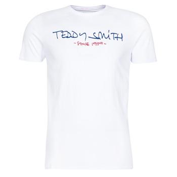 Îmbracaminte Bărbați Tricouri mânecă scurtă Teddy Smith TICLASS Alb