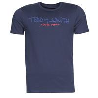 Îmbracaminte Bărbați Tricouri mânecă scurtă Teddy Smith TICLASS Albastru