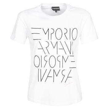 Îmbracaminte Femei Tricouri mânecă scurtă Emporio Armani DONOVANN Alb