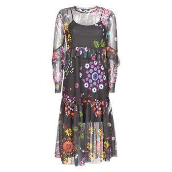 Îmbracaminte Femei Rochii lungi Desigual PORTLAND  multicolor