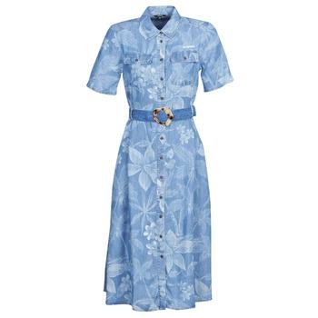 Îmbracaminte Femei Rochii lungi Desigual KATE Albastru