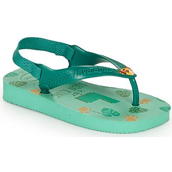 Pantofi Copii  Flip-Flops Havaianas BABY DISNEY CLASSICS II Verde