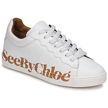 Pantofi Femei Pantofi sport Casual See by Chloé SB33125A Alb