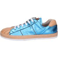 Pantofi Femei Pantofi sport Casual Moma sneakers pelle Blu