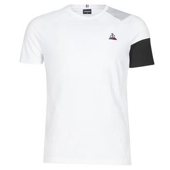 Îmbracaminte Bărbați Tricouri mânecă scurtă Le Coq Sportif ESS Tee SS N°10 M Negru / Gri