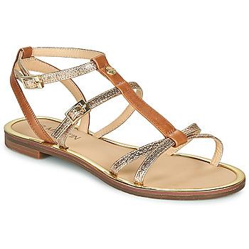 Pantofi Femei Sandale  JB Martin 1GRIOTTES Maro / Auriu