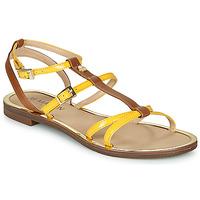 Pantofi Femei Sandale  JB Martin 1GRIOTTES Galben / Maro